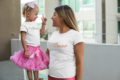 Mini Boss Toddler Tee