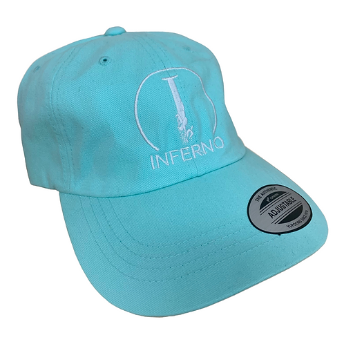 Inferno Teal Hat