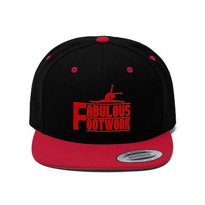 FF Unisex Flat Bill Hat