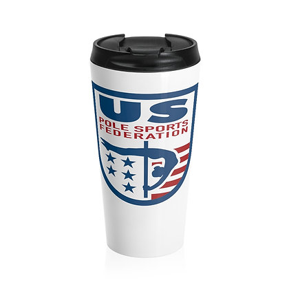 USPSF Stainless Steel Travel Mug