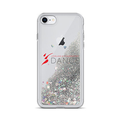LCD Liquid Glitter Phone Case