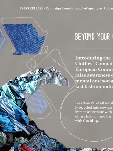 """Beyond Your Clothes"""" Campaign."""