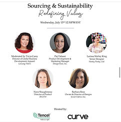 Sourcing and Sustainability