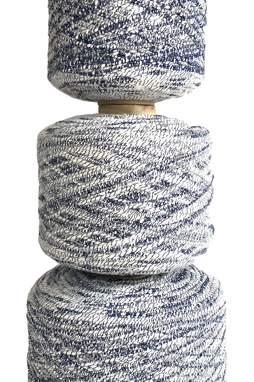 1968 grams (3 cones)  - Remnant production yarn - USA brand