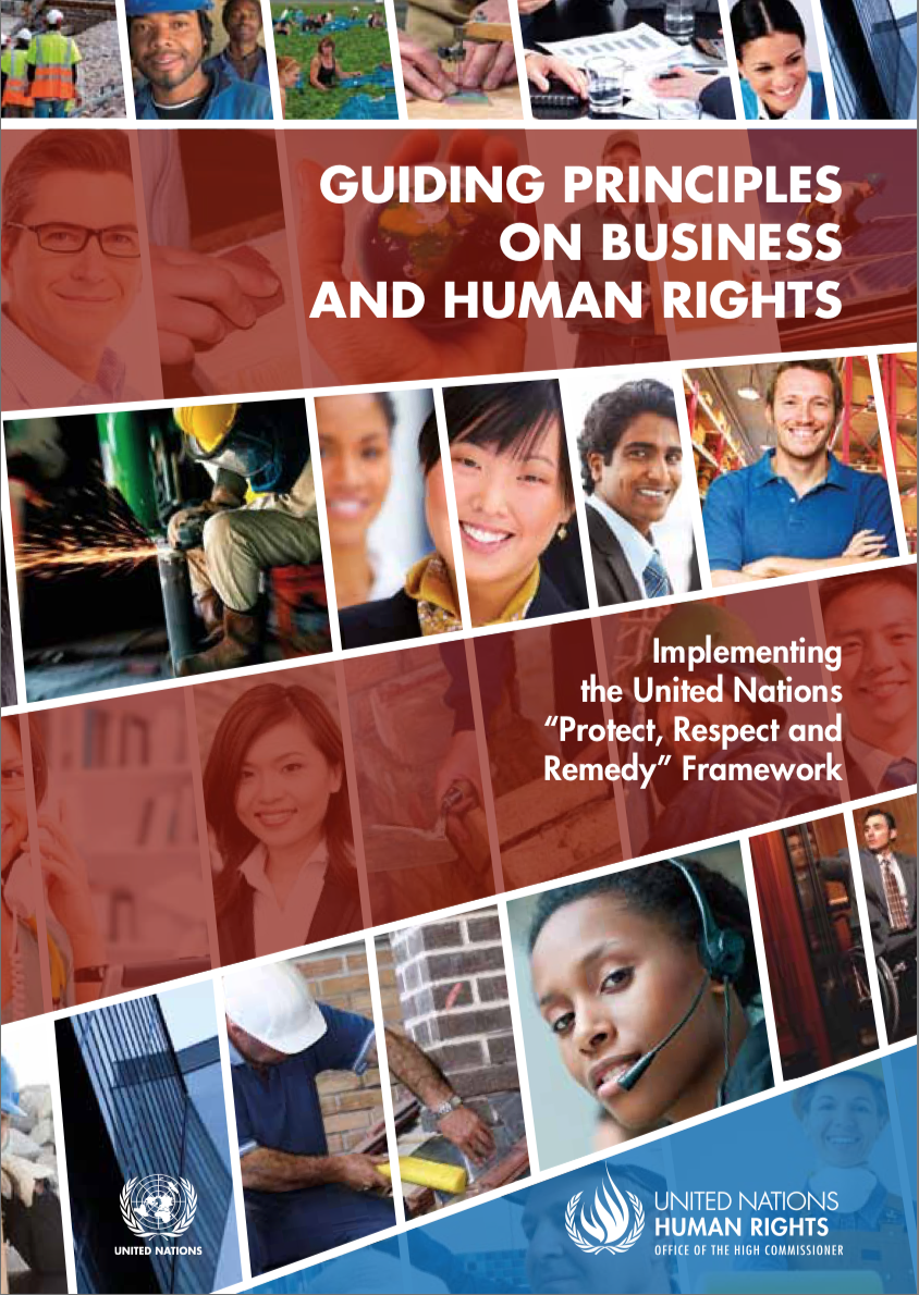 UN - Guiding Principles on Business and