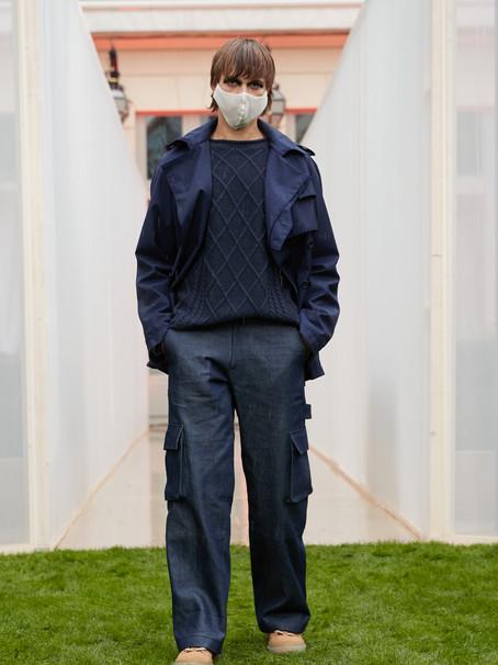 Reuben Selby Showcases Infinited Fiber in Paris Fashion Week Debut