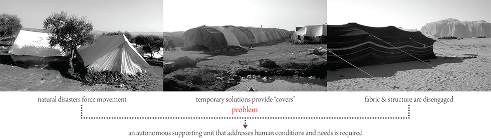 abeer seikaly refugee tents