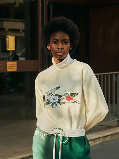 Lacoste creative director Louise Trotter unveils a upcycled capsule collection