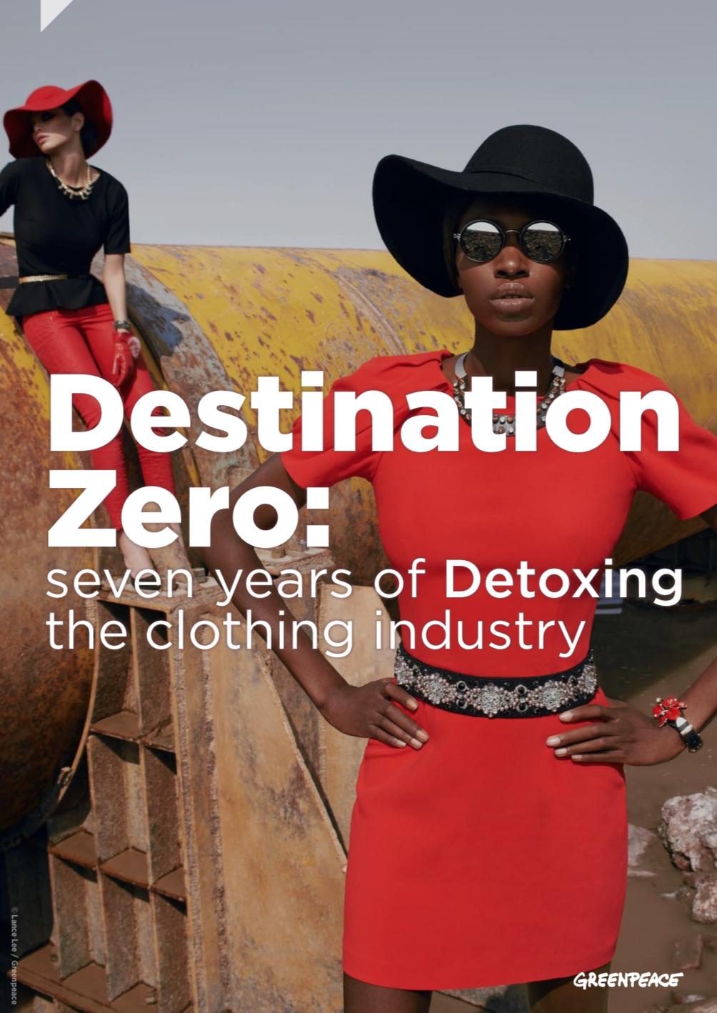 Destination Zero Greenpeace Detox