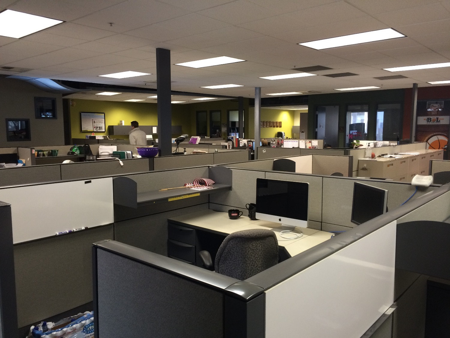 Cubicle Tear Down and Build