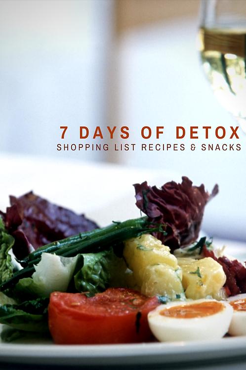 7 Days of Detox