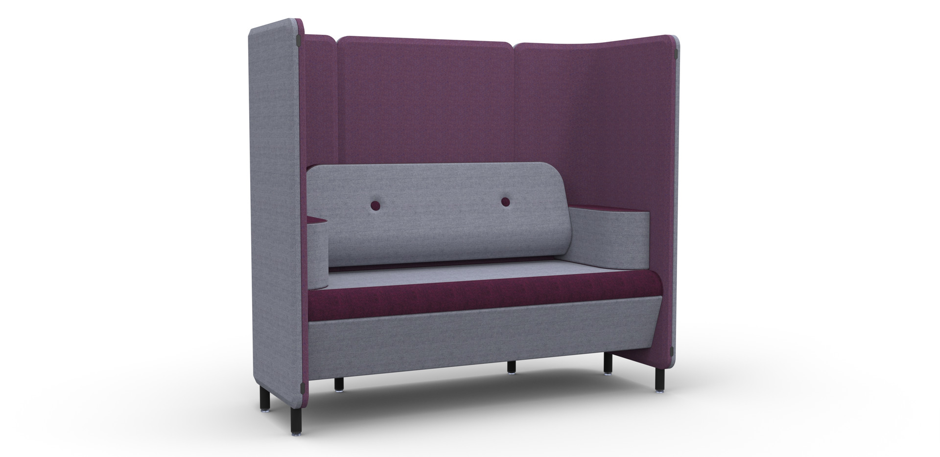 NEW - 2 Seat Sofa (single seat) with BUt