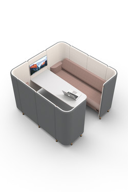 NEW - 6 Seat Booth