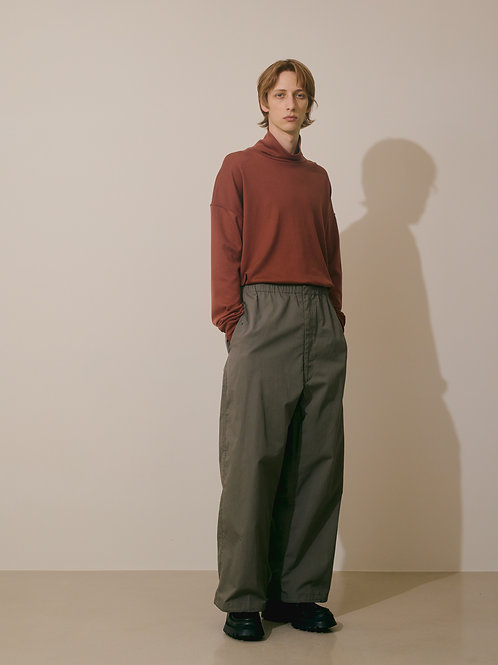 MILITARY WIDE EASY OVER PANTS