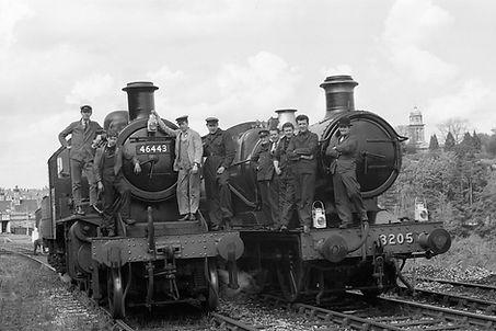 46443 and 3205 bridgnorth 7th may 1967 D