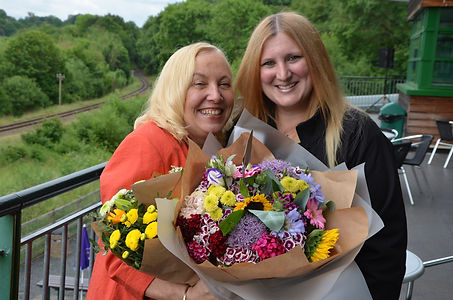 Rita Holland with Engine House manager Nicky Freeman, credit Tony Bending (Copy).jpg