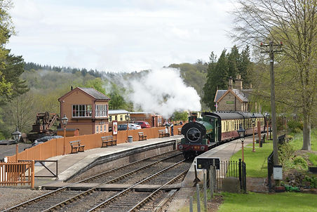 9th May 2021 - 813 is seen at Arley with