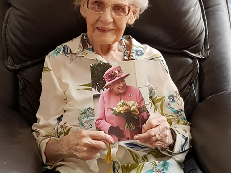 Beryl turns 105!