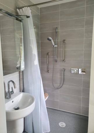 Wet room bathrooms