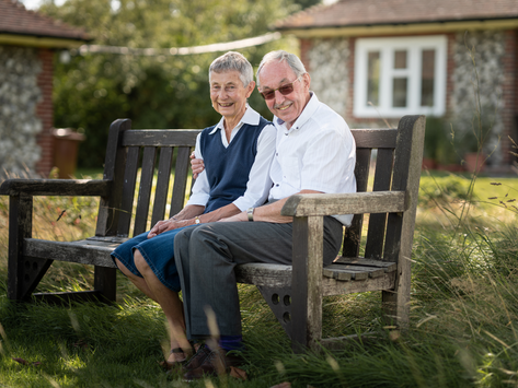 Janet & Tony Celebrate 21 Years' as Volunteers for BBCH