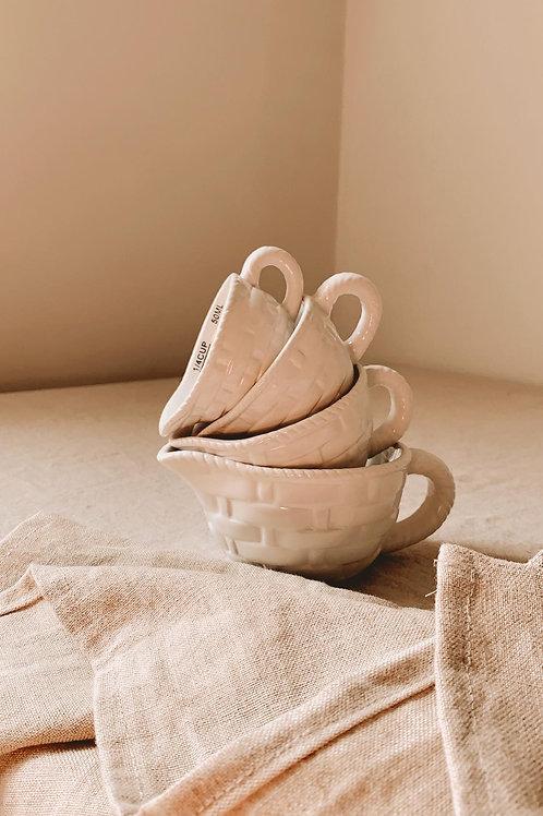 Tasses à mesurer en céramique