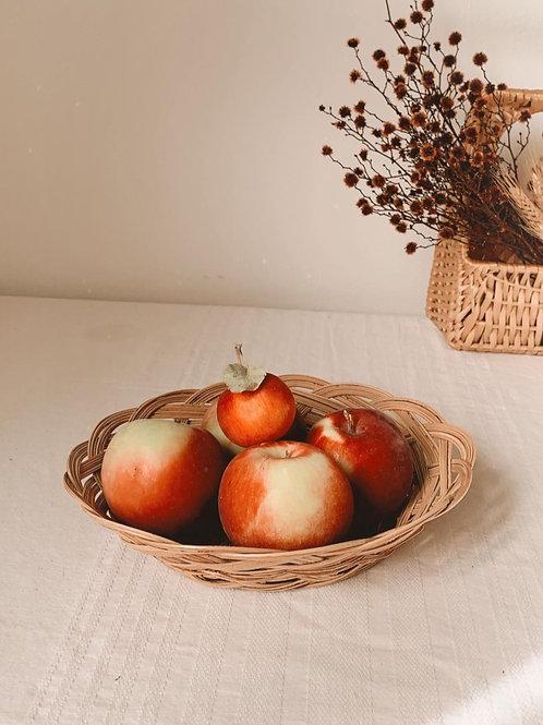Panier à pommes d'automne