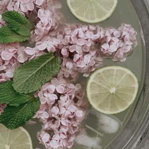 Recette de limonade aux lilas