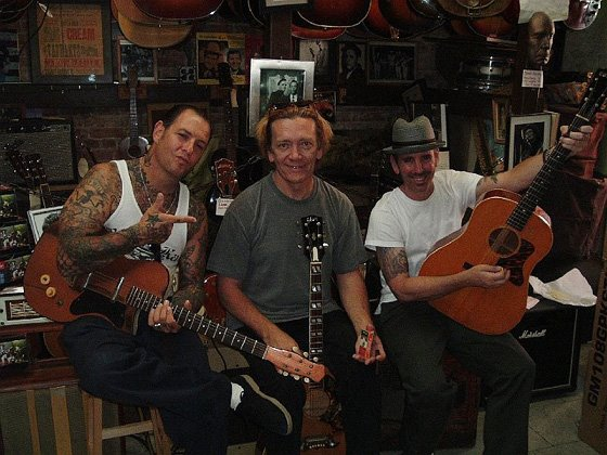 Social Distortion and G.E. Smith