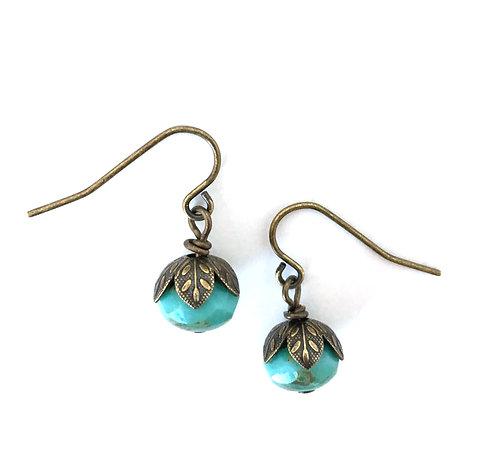 Twist Style, Artisan Jewelry, Twist Style Jewelry, Maryellen Kim, Boho Earrings, Resort Jewelry, Travel Wear, Ocean Blue