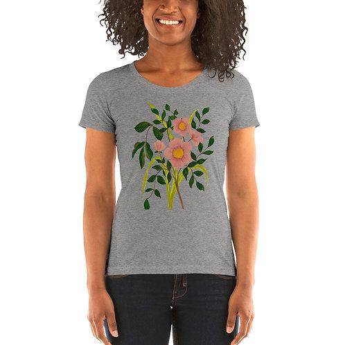 Backyard Flower Bouquet Shirt Adult