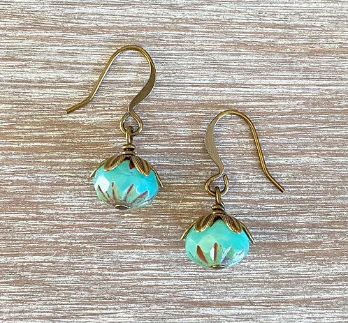 Earthen Beauty Drop Earrings
