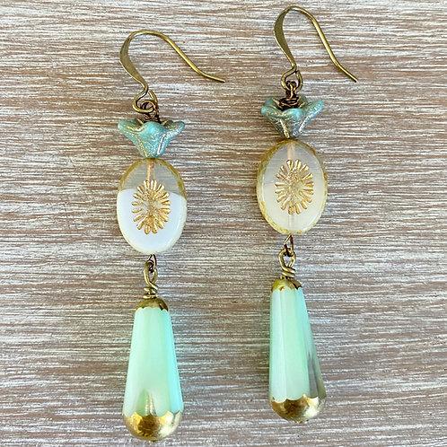 Jade Garden Earrings