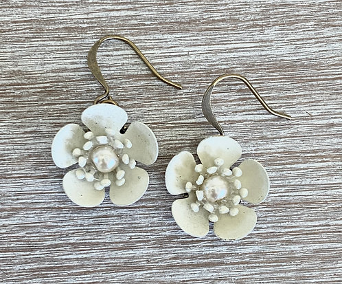 Ivory Buttercup Earrings
