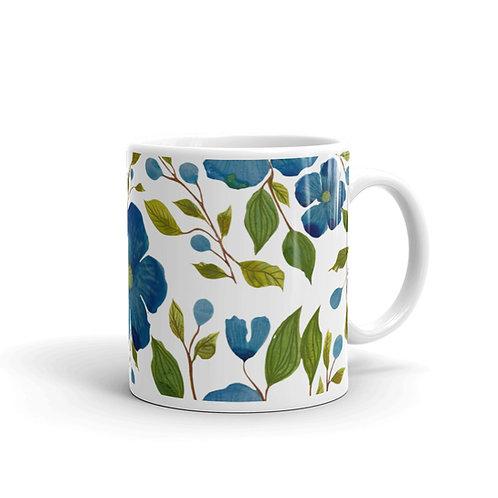 Flowery Camp Mug