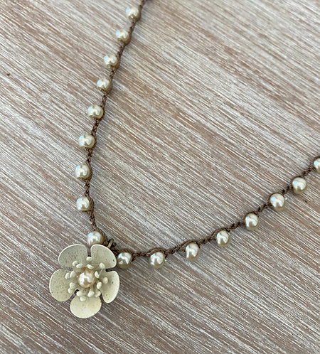 Ivory Buttercup Necklace