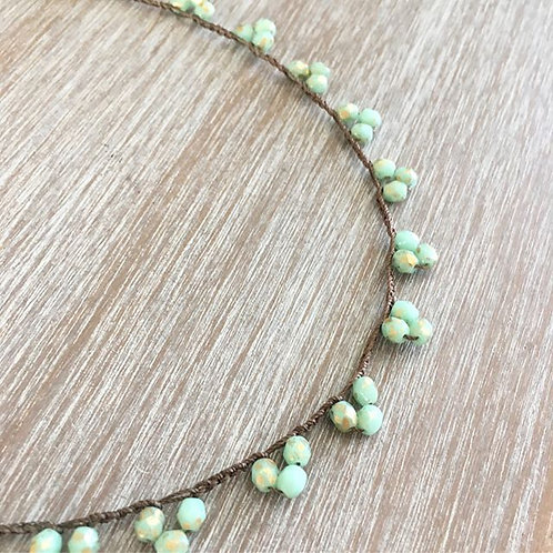 Dainty Cluster Necklace
