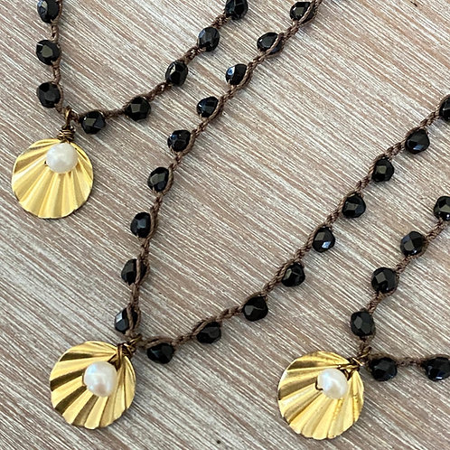 Dainty Shell Drop Necklace