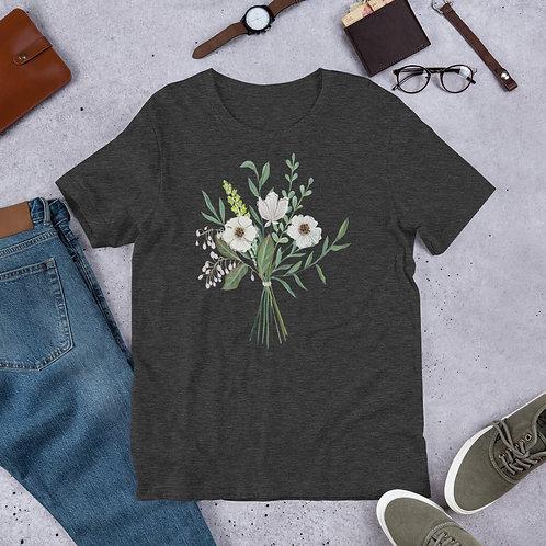 Flowers For Friends Bouquet Shirt Adult