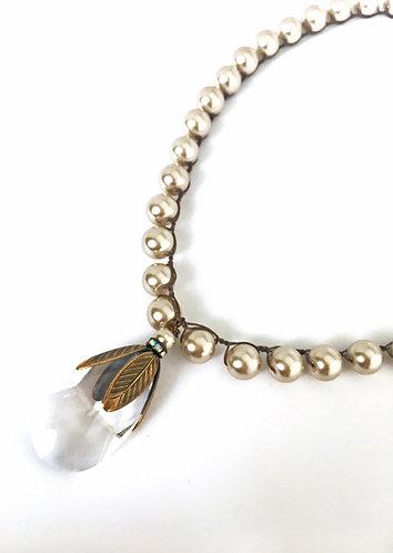 Art Deco Baroque Necklace