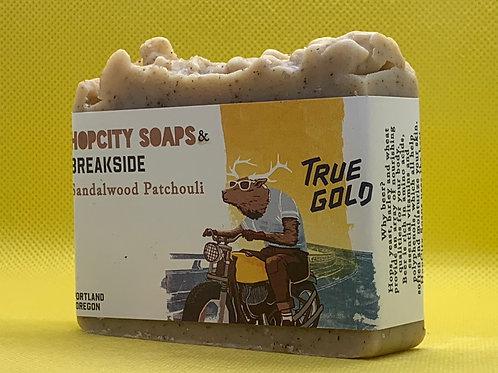 Sandalwood Patchouli x Breakside True Gold Ale
