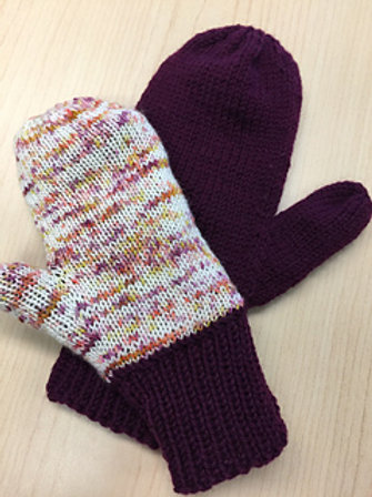 Lined Mittens pattern only