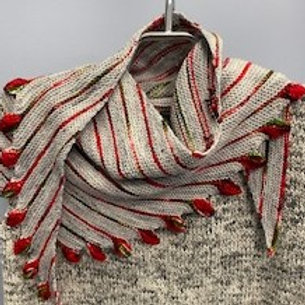 Leftie Shawl Kit with pattern