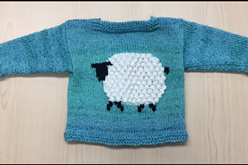 Mary's Little Lamb pattern only