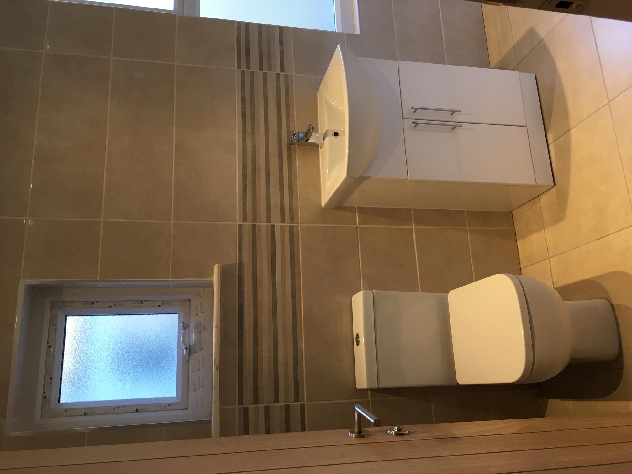 Bathroom install