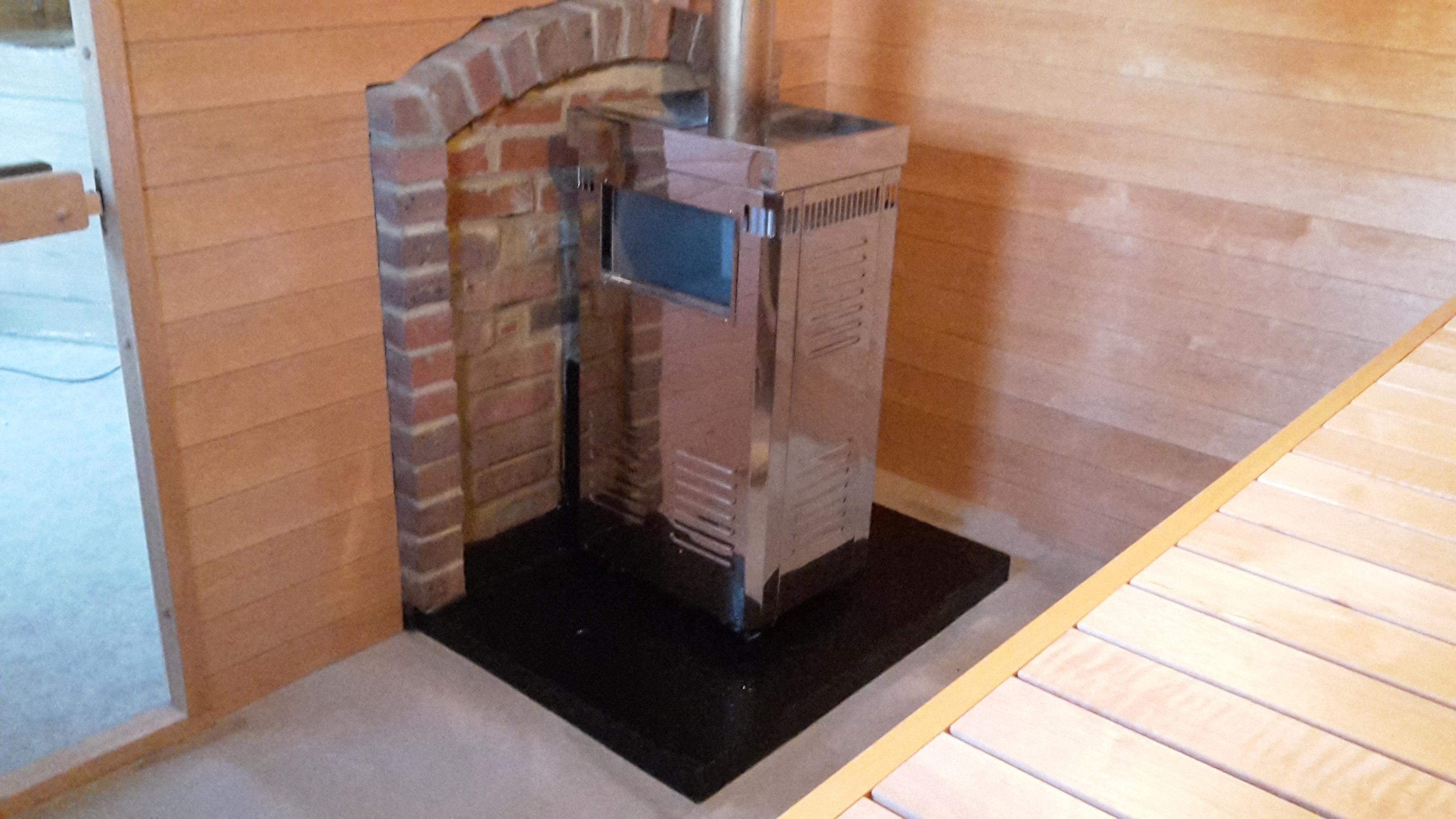 Sauna Heating