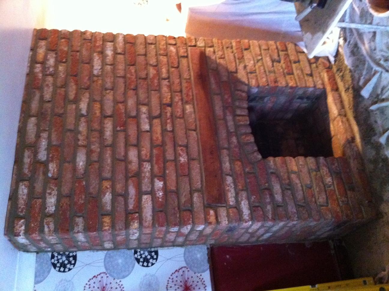 Brick Fireplace (Unfinished)