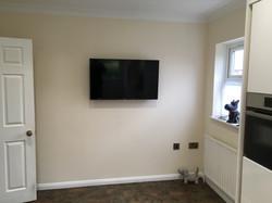 Hidden Wire TV Installation