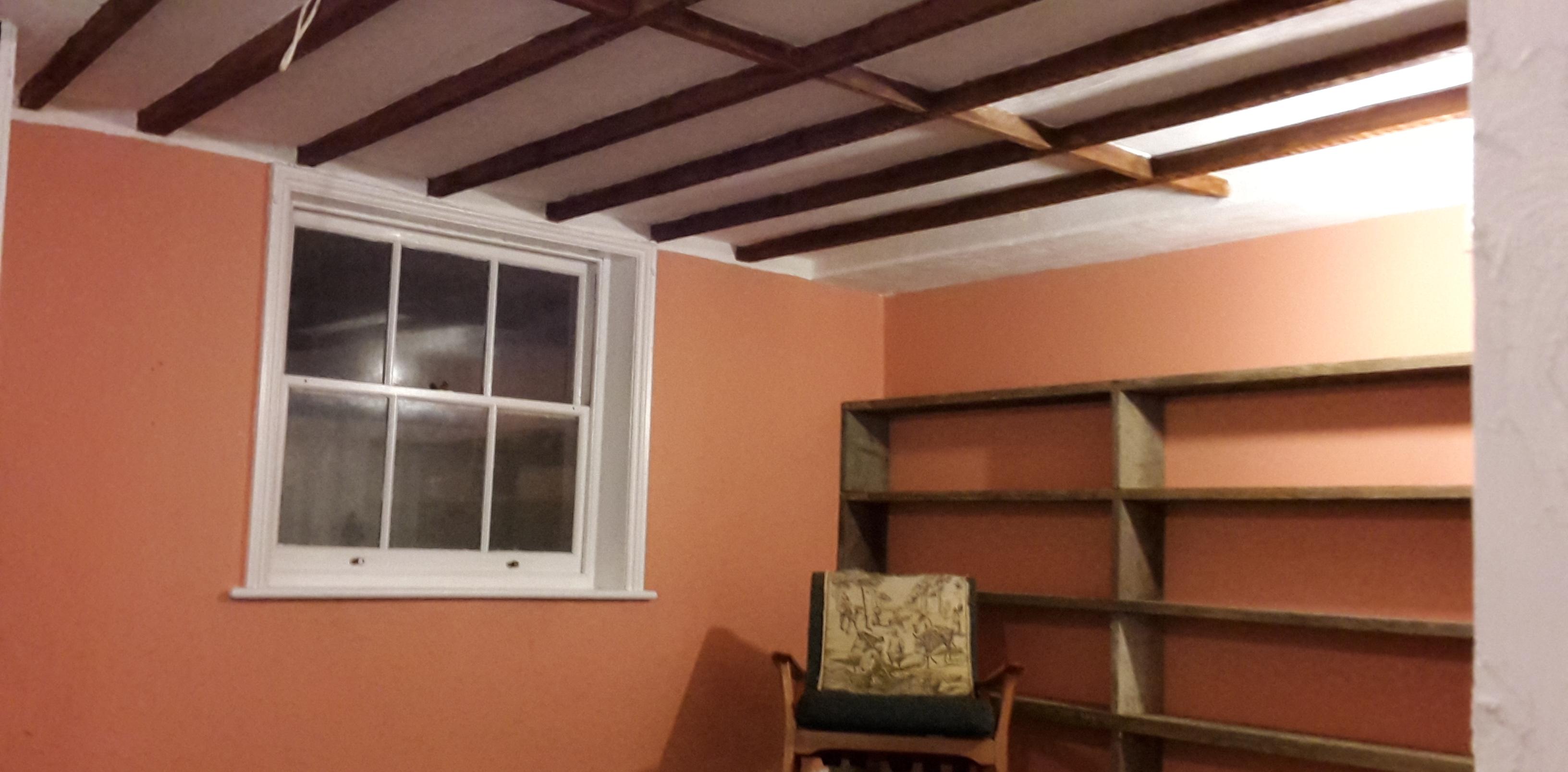 Exposed Beam Ceiling