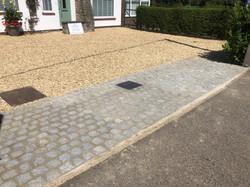 Granite Cobble Install