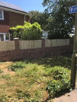 New Wall and Fence Infill